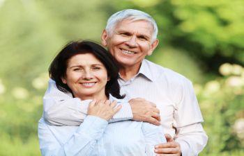Older Couple Charitable Giving